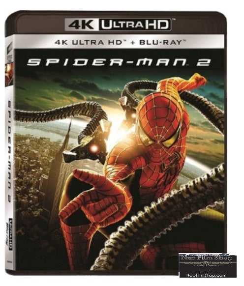 Spider-Man 2 (2004) (4K Ultra HD + Blu Ray) (English Subtitled) (Hong Kong Version) - Neo Film Shop