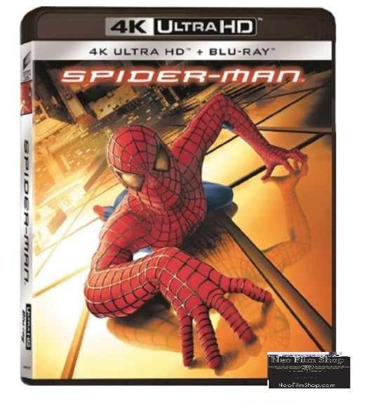 Spider-Man (2002) (4K Ultra HD + Blu Ray) (English Subtitled) (Hong Kong Version) - Neo Film Shop