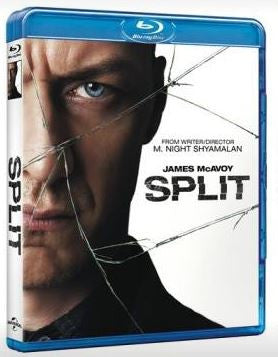 Split 思.裂 (2016) (Blu Ray) (English Subtitled) (Hong Kong Version)