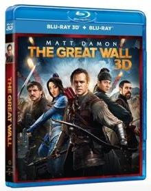 The Great Wall 長城 (2016) (Blu Ray) (2D + 3D)  (English Subtitled) (Hong Kong Version) - Neo Film Shop