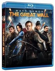 The Great Wall 長城 (2016) (Blu Ray) (English Subtitled) (Hong Kong Version)
