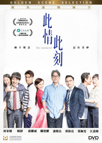 The Moment 此情此刻 (2016) (DVD) (English Subtitled) (Hong Kong Version)