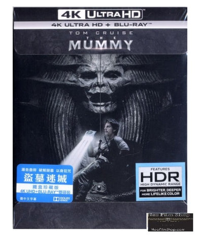 The Mummy (2017) (4K Ultra HD + Blu Ray) (Steelbook) (English Subtitled) (Hong Kong Version) - Neo Film Shop