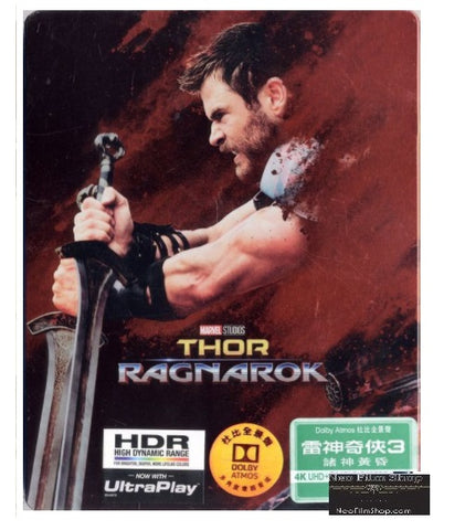 Thor: Ragnarok (2017) (4K Ultra HD + Blu Ray) (Steelbook) (English Subtitled) (Hong Kong Version) - Neo Film Shop
