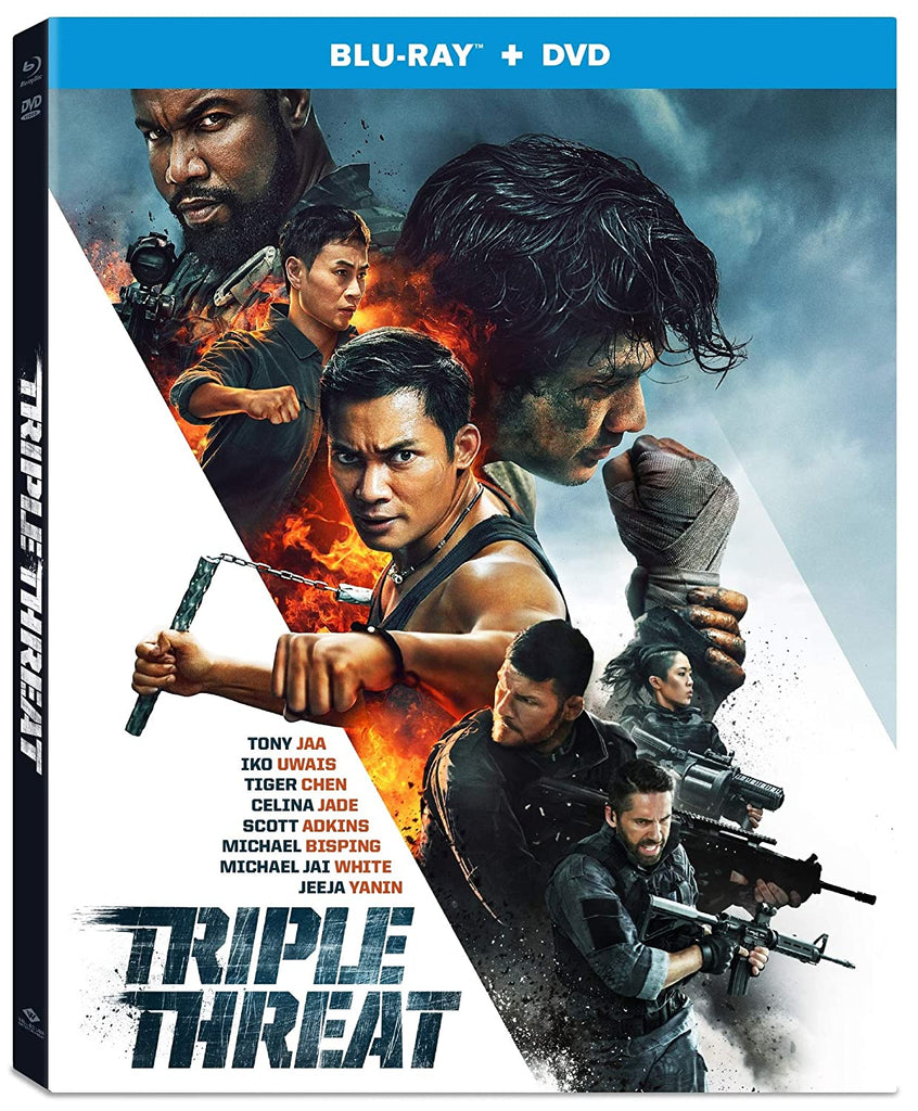 Triple Threat (2019) (Blu Ray + DVD) (English Subtitled) (US Version)