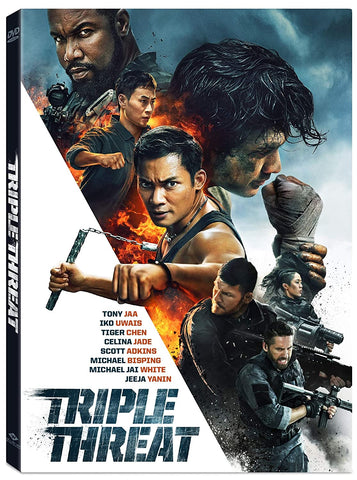 Triple Threat (2019) (DVD) (English Subtitled) (US Version)