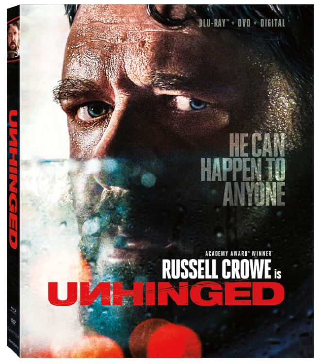 Unhinged (2020) (Blu Ray + DVD + Digital) (English Subtitled) (US Version)