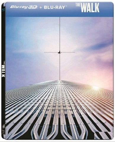 The Walk (2015) (Blu Ray) (Steelbook) (2D + 3D) (Limited Edition) (English Subtitled) (Hong Kong Version) - Neo Film Shop
