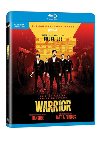 Warrior: Season 1 戰士 (2019) (Blu Ray) (Complete First Season) (US Version)