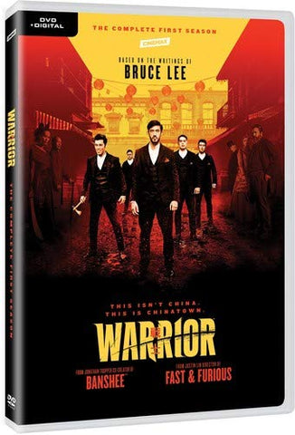 Warrior: Season 1 戰士 (2019) (DVD) (3 Discs) (Complete First Season) (US Version)