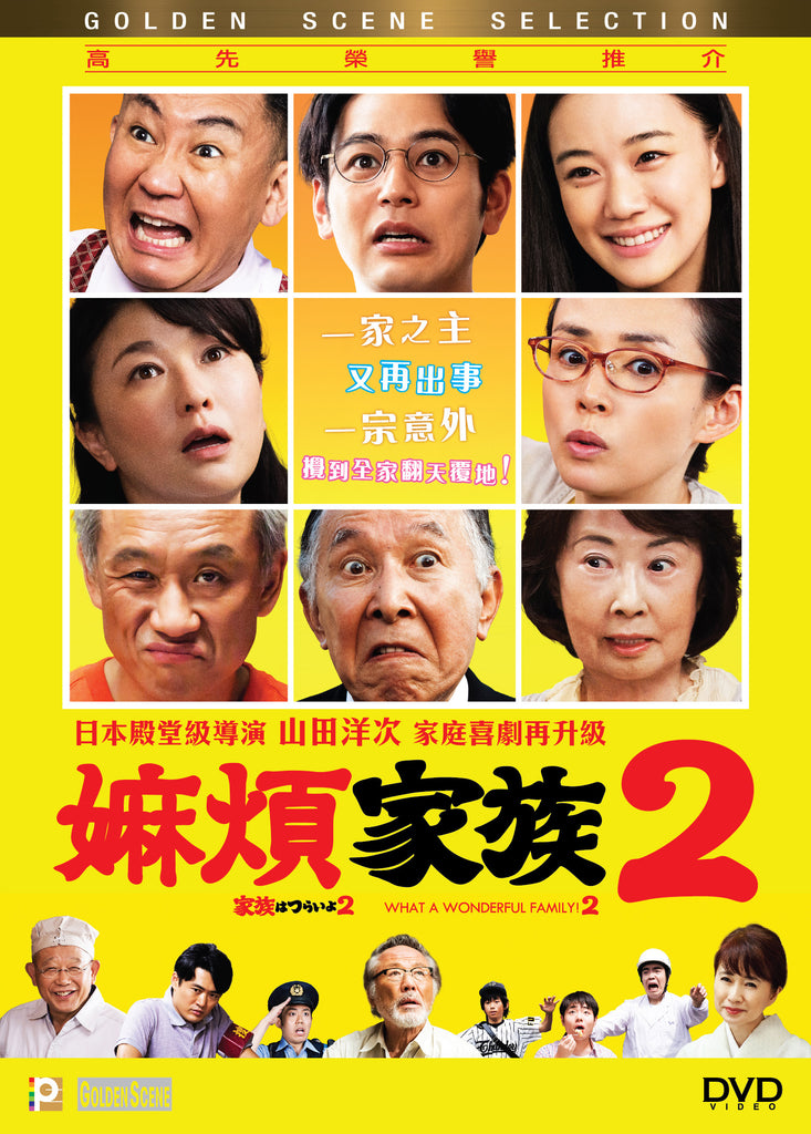 What A Wonderful Family! 2 (2017) (DVD) (English Subtitled) (Hong Kong Version)