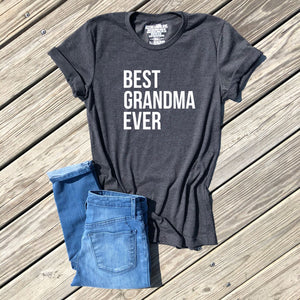 SALE - best grandma ever shirt - icecreaMNlove