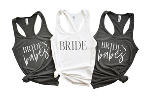 Brides Babes Bridal Party Racerbacks by icecreaMNlove - icecreaMNlove