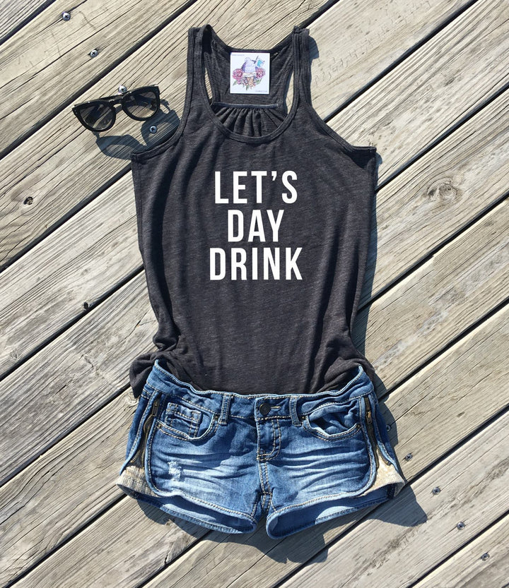lets day drink tank top by icecreaMNlove - icecreaMNlove