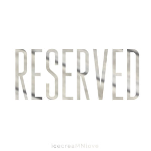 RESERVED - priority mail and express mail shipping - SHIRTS - icecreaMNlove