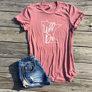 uff da minnesota shirt by icecreaMNlove - icecreaMNlove