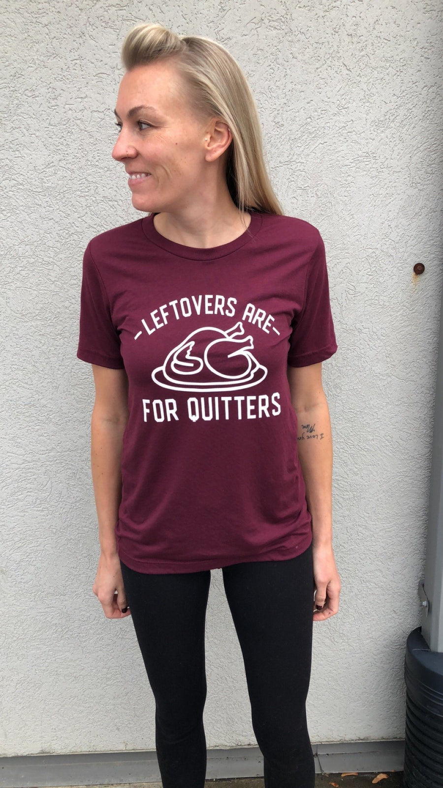 leftovers are for quitters shirt by icecreaMNlove - icecreaMNlove