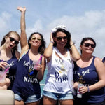 Lets Get NAUTI and Nauti Bride Bachelorette Party Shirts by icecreaMNlove - icecreaMNlove