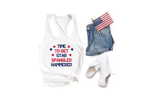 time to get star spangled hammered shirt by icecreamnlove - icecreaMNlove