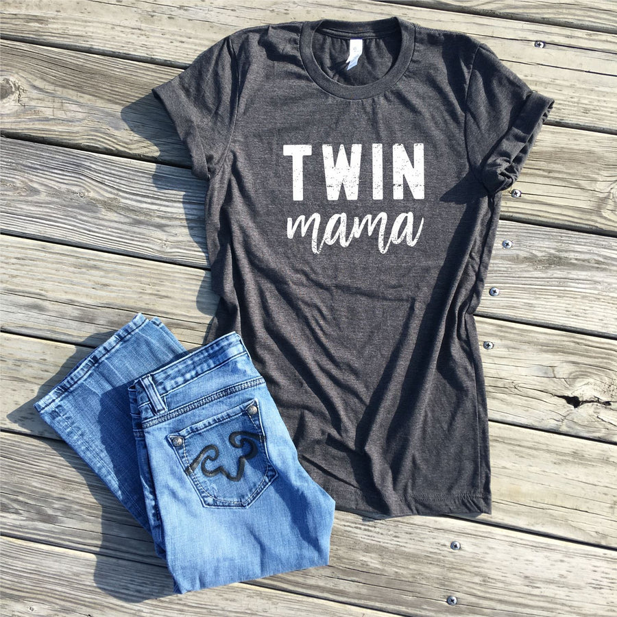 SALE - twin mama shirt - icecreaMNlove