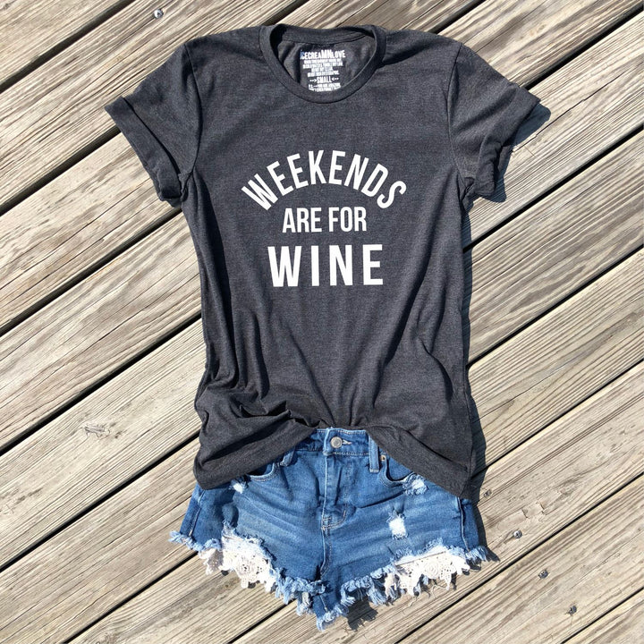 SALE - weekends are for wine - icecreaMNlove