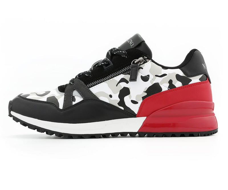 Mazino Azurite Fashion Sneaker Camo-Red