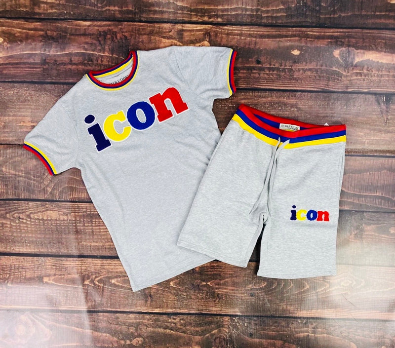 Men's Icon T-Shirt and Short Set
