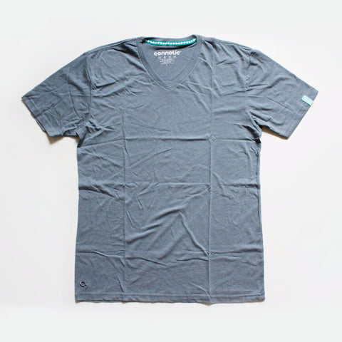Connetic Charcoal Grey Vneck