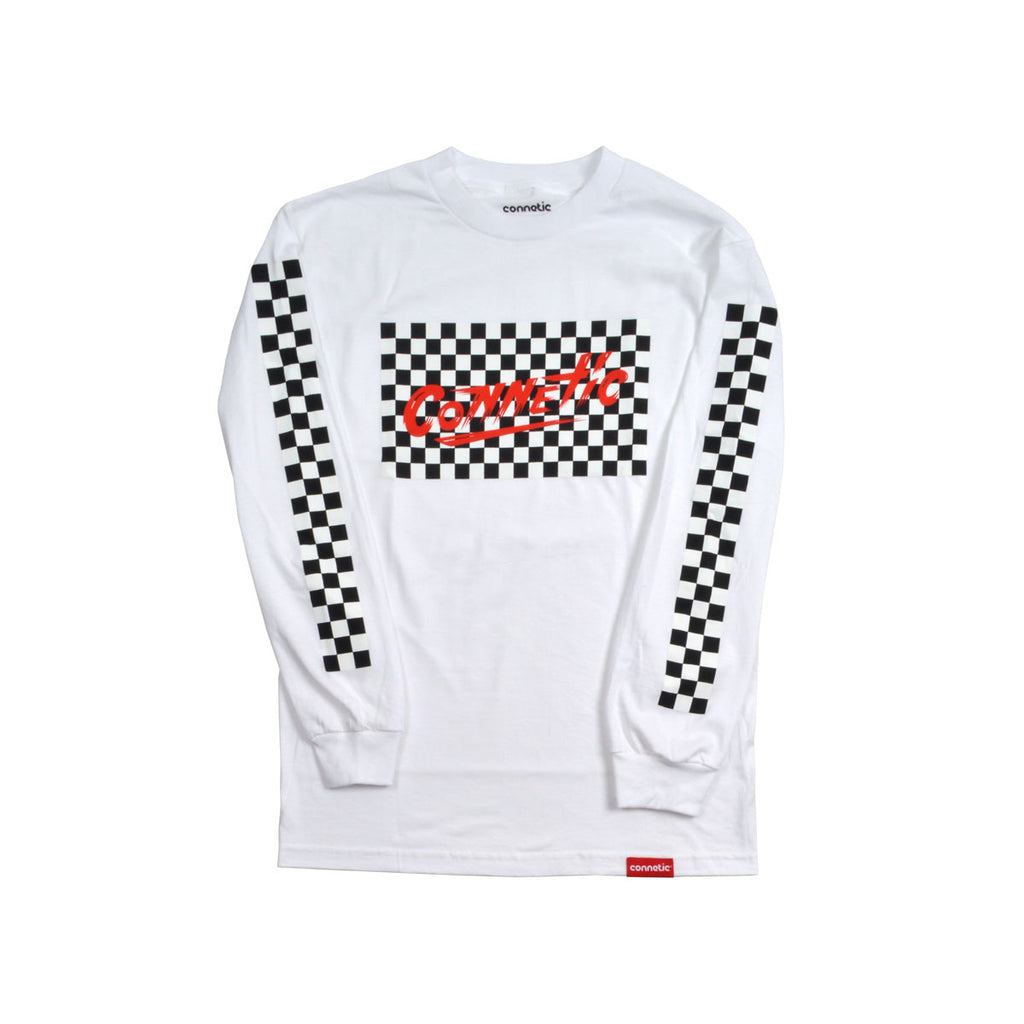 Checker Long Sleeve Tee