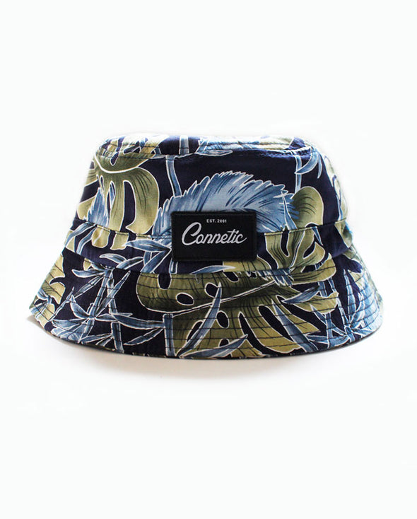 Connetic-Bucket-floral-blue