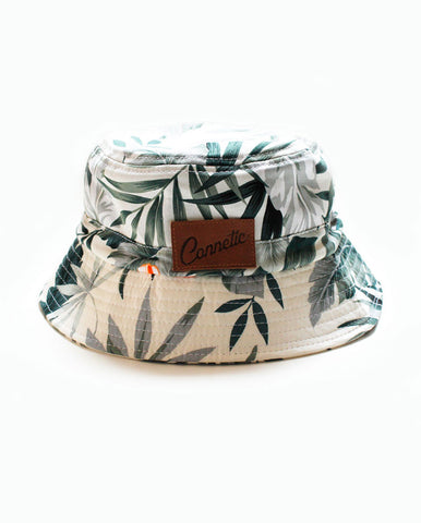 Connetic-Bucket-floral-white