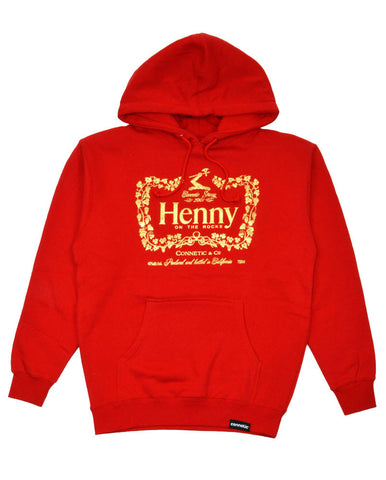 Connetic-Henny-OnTheRocks-Hoody-Red