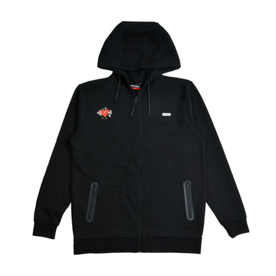 Connetic x J Boog Tech Fleece Zip Up Hoodie