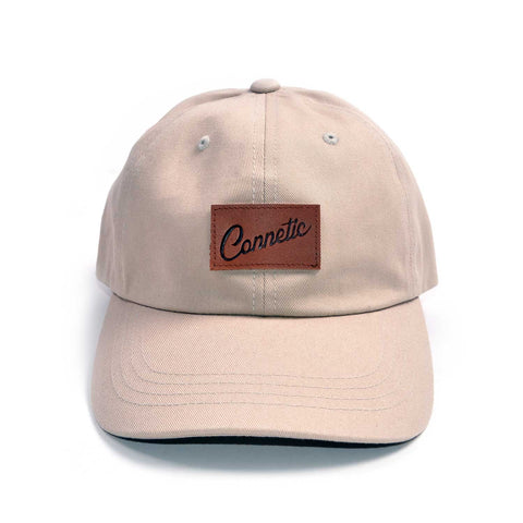 Classic Leather Script Low Profile Hat