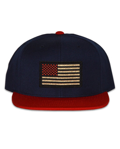Connetic-OldGlory-Red-Gold-Snapback-Navy-Red-1