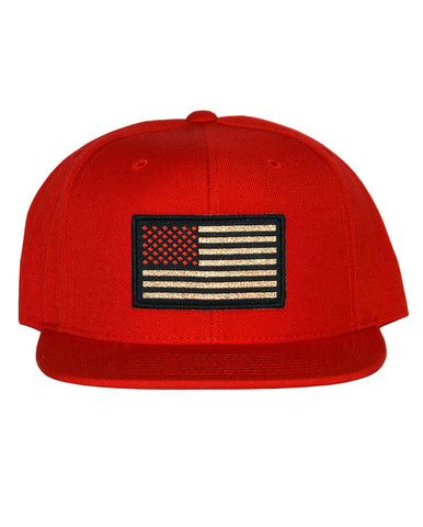 Connetic-OldGlory-Red-Gold-Snapback-Red-1
