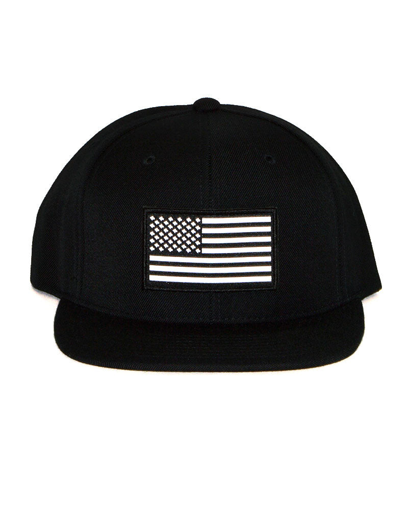 Connetic-OldGlory-White-Snapback-Black-1