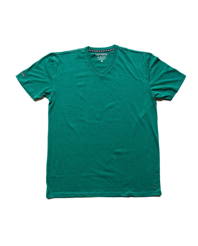 Connetic-Premium-Vneck-Forest-Green-1
