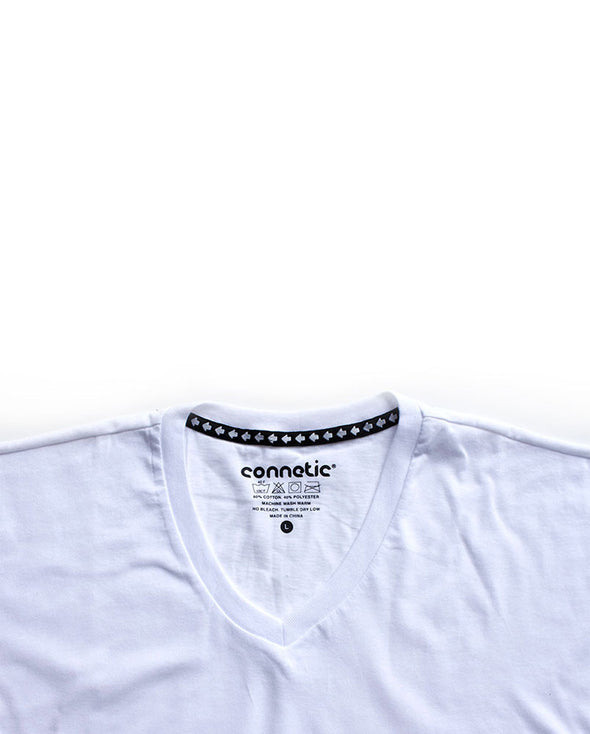 Connetic-Premium-Vneck-White-2