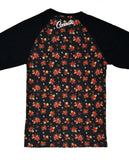 Connetic-Rose-Raglan-Black-Sleeve-Back