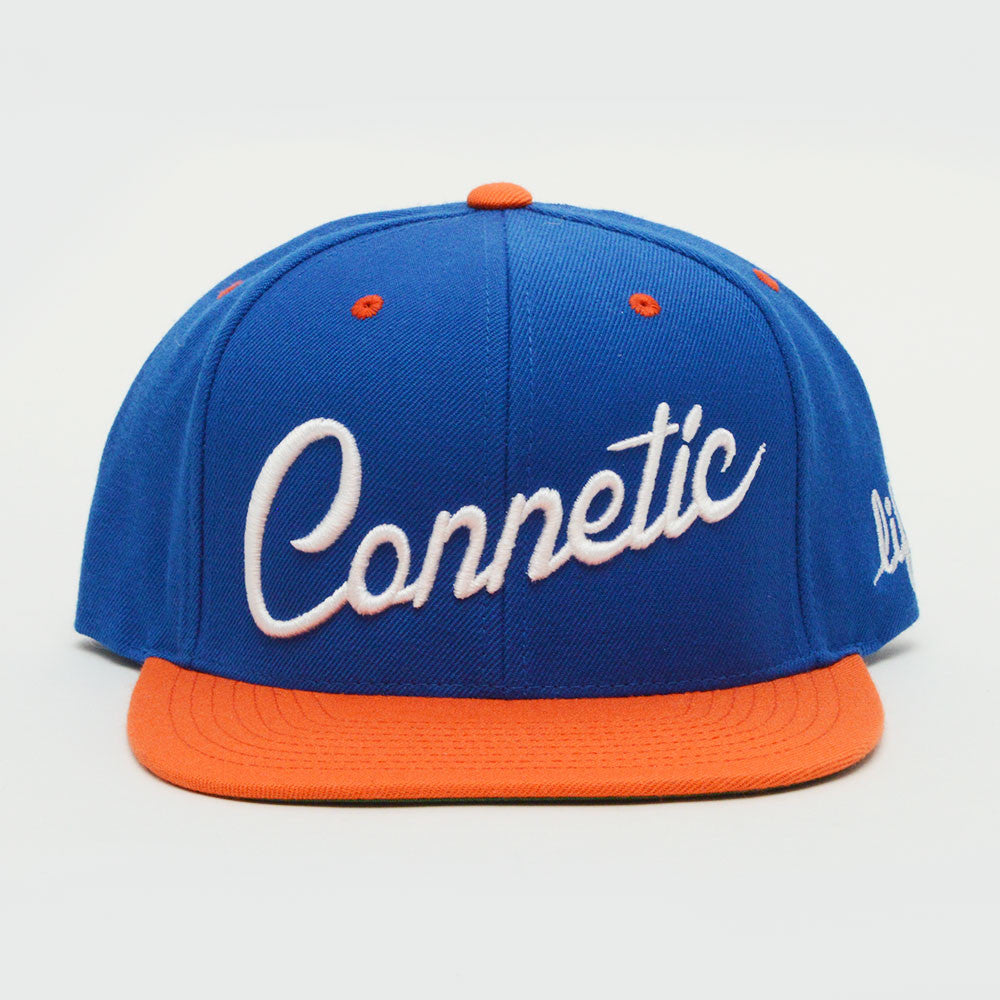 Connetic-Script-Snap-Blue-Orange