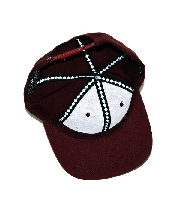 Connetic-Seal-gold-Snapback-Maroon-3