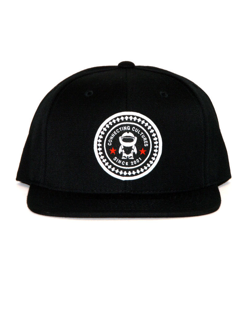 Connetic-Seal-white-Snapback-Black-1