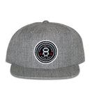 Connetic-Seal-white-Snapback-Heather-Gray-1