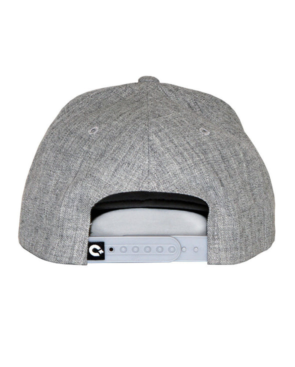 Connetic-Seal-white-Snapback-Heather-Gray-2