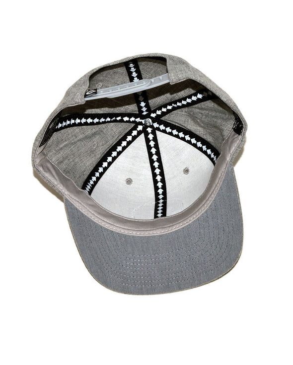 Connetic-Seal-white-Snapback-Heather-Gray-3
