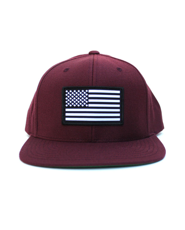 Connetic-Snapback-OldGlory-White-Navy-Front