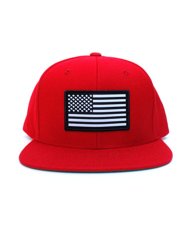 Connetic-Snapback-OldGlory-White-Red-Front