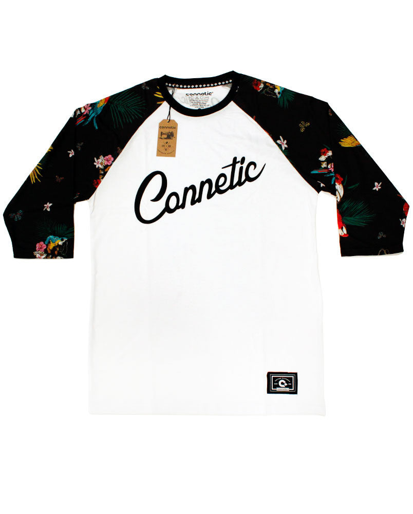 Connetic-Spring15-Parrot-Raglan-White