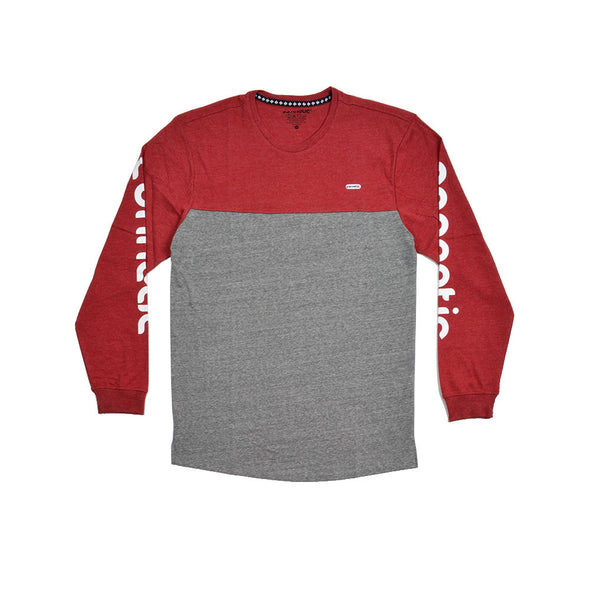 Deck Logo Two Tone Long Sleeve Tee